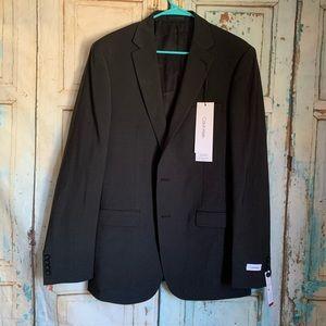 Calvin Klein gray men's suit jacket 42 long